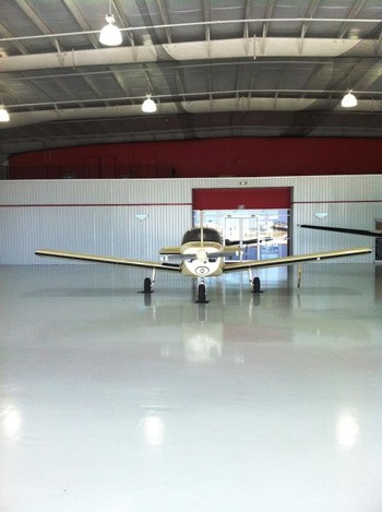 Epoxy Coating for an Aircraft Hangar in Port Orange, FL