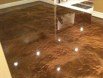 Metallic Floor Epoxy