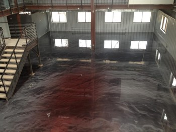 Metallic Floor Epoxy Coating in Port Orange, FL